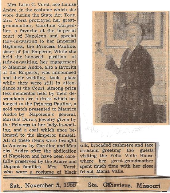 article of Leon C. Vorst.