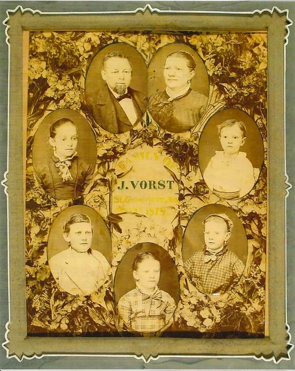 photo of 1878 Family of J. Vorst