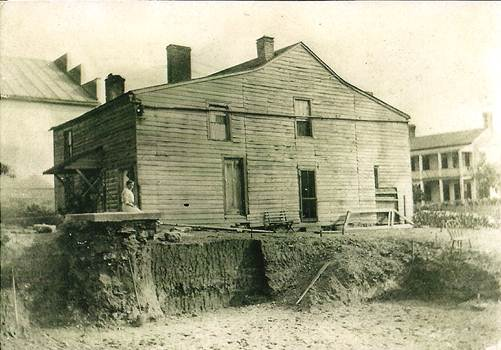 photo of first home of Joseph Henry and Jennie Vorst