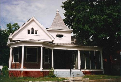 photo of 1914 home of Joseph Henry and Jennie Vorst