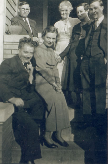 photo of Joe and Matt with Myrtle