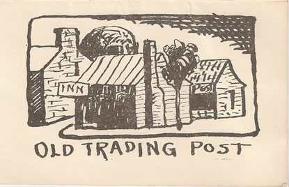 photo of the Old Trading Post menu cover