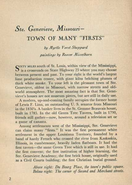 Town of Many 'Firsts' page 2